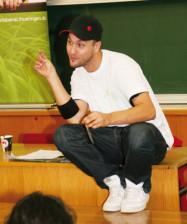 Christian Weirich, Rap Erziehung, Workshop Vision